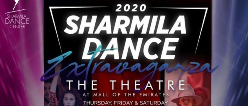 Sharmila Dance Extravaganza on Apr 16th – 18th at The Mall of the Emirates Dubai 2020
