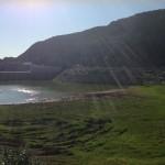 Shawka dam front view