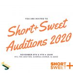 Short+Sweet 2020 - Auditions