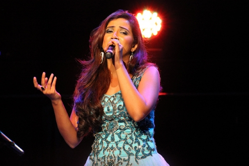 Shreya Ghoshal Live in Concert Dubai 2014