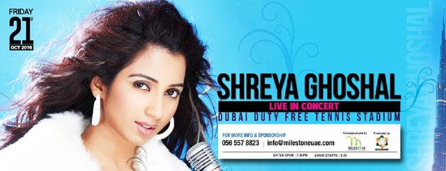 Shreya Ghoshal Live In Dubai 2016 – Events in Dubai, UAE.