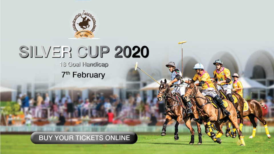 Silver Cup 2020 on Jan 24th – Feb 7th at Al Habtoor Polo Resort and Club Dubai