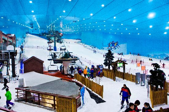 Ski Dubai at Mall of the Emirates