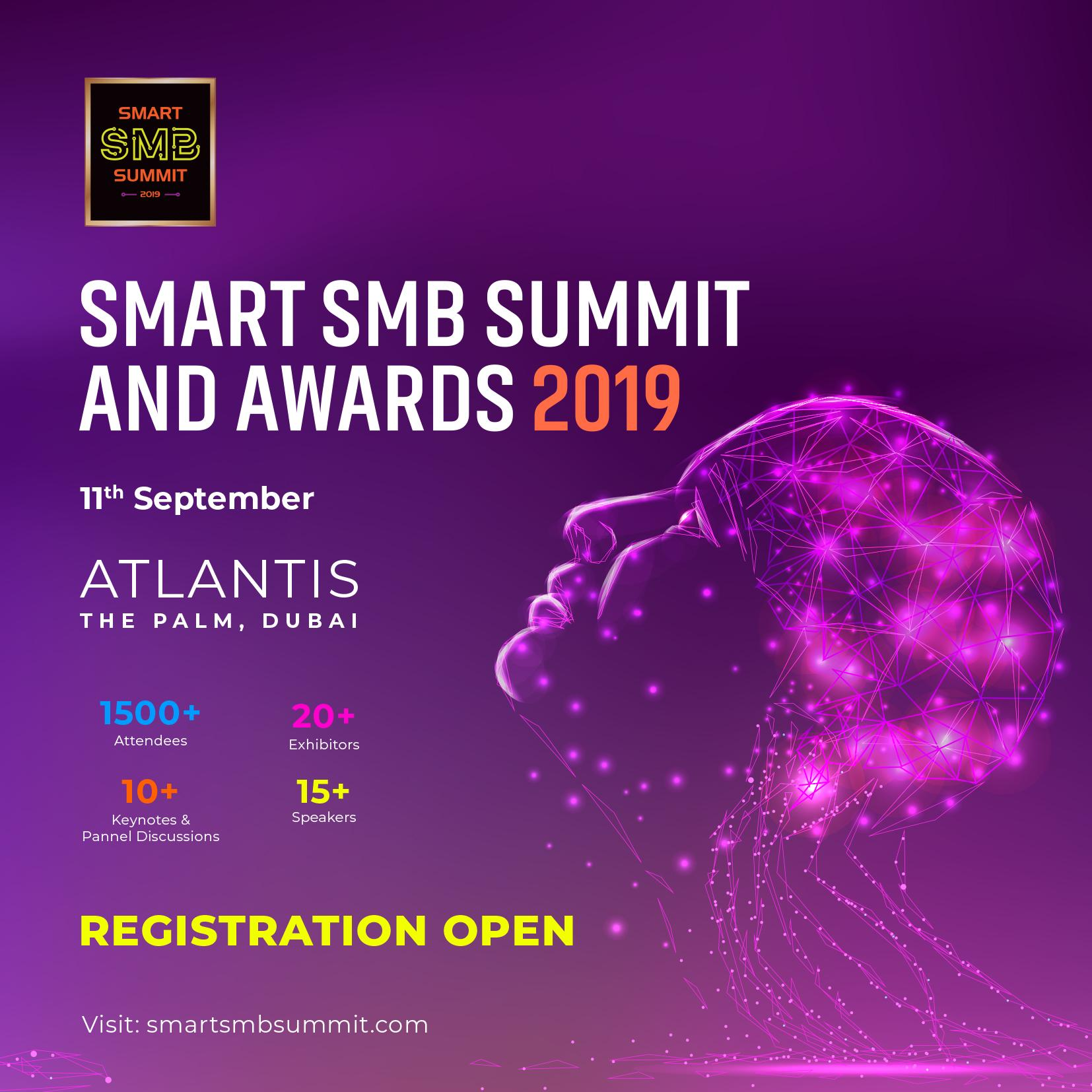 Smart SMB Summit & Awards Dubai 2019