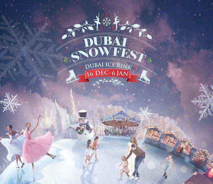 Snowfest Village Market Dubai