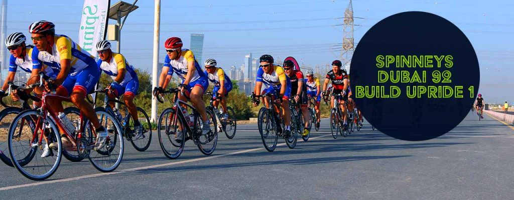 Spinneys Dubai 92 Build-Up Ride 1 Cycle Challenge
