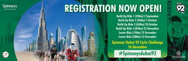 The Spinneys Dubai 92 Cycle Challenge – Events in Dubai, UAE.