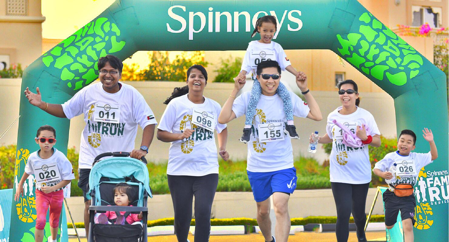 Spinneys Family Fun Run 4 Dubai 2020