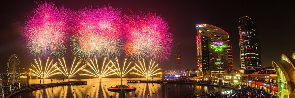 Spotlight New Year's Eve at Intercontinental Dubai Festival City