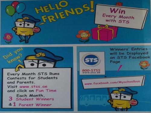 STS Contest Zone 2015 Dubai