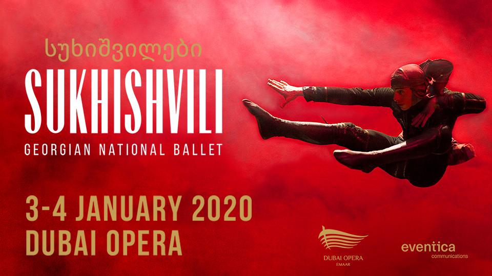 Sukhishvili Georgian National Ballet at Dubai Opera 2020
