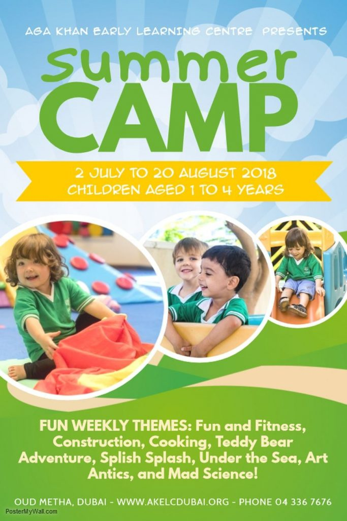 Aga Khan Early Learning Centre Summer Camp 2018