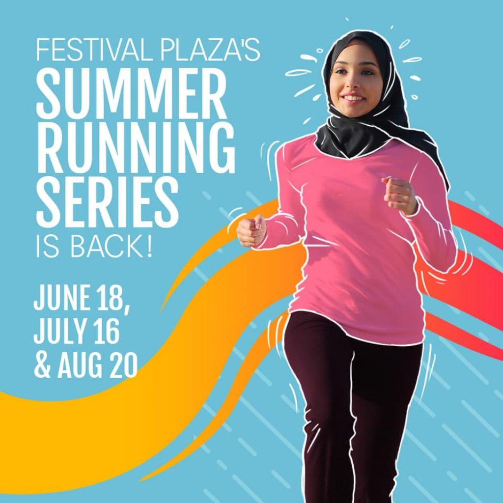 Summer Running Series 2021 - Festival Plaza Dubai UAE