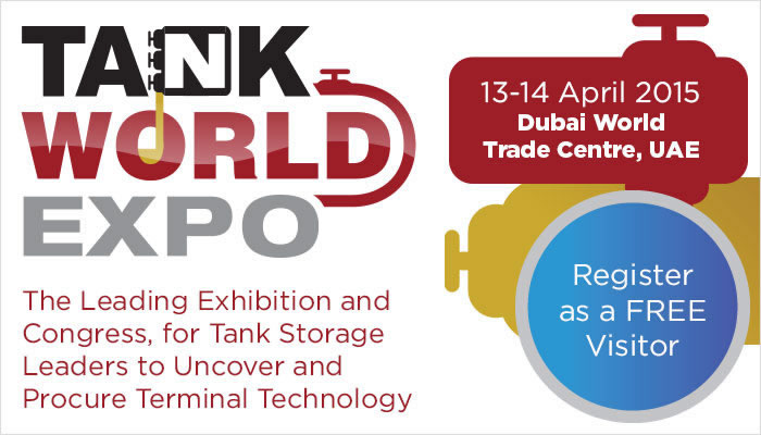 Tank World Expo 2015 in Dubai, UAE