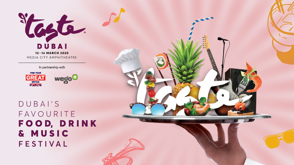 Taste of Dubai on Mar 12th – 14th at Dubai Media City Amphitheatre