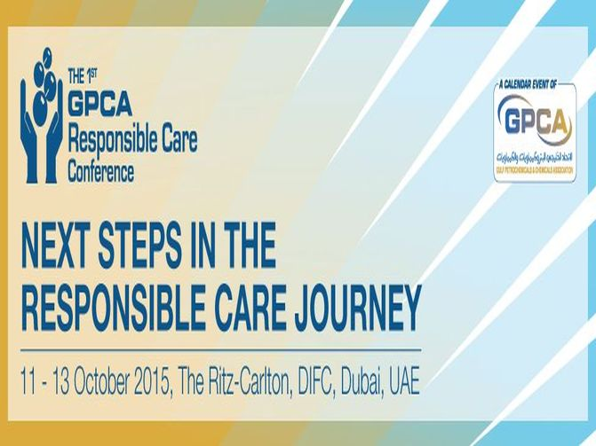 The 1st GPCA Responsible Care Conference in Dubai, UAE