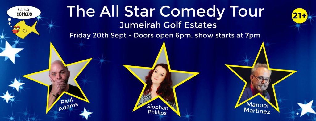 The All Star Comedy Tour Dubai 2019