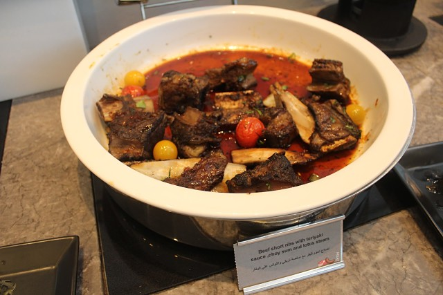 Fountain Restaurant Dubai, UAE - Delicious Beef Short Ribs