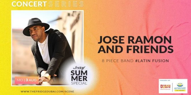 The Fridge Concert Series: Jose Ramon Dubai 2020