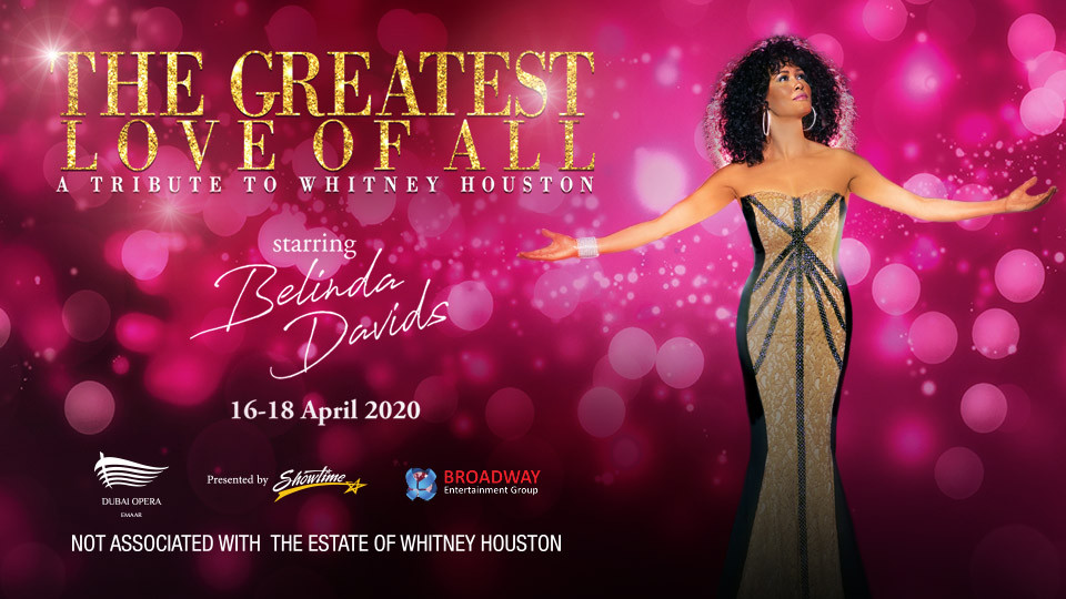 The Greatest Love of All on Apr 16th – 18th at Dubai Opera