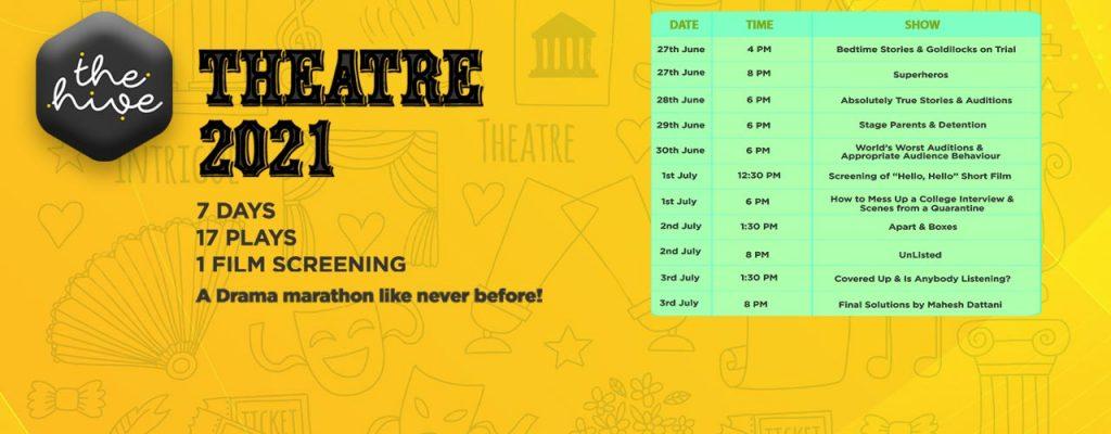 The Hive Theatre 2021 - Event in Dubai, UAE