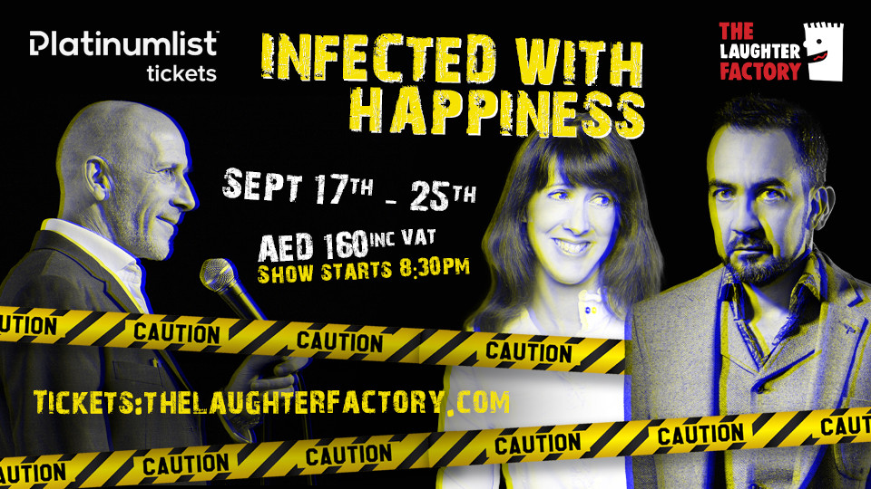 The Laughter Factory: 17 September Dubai 2020