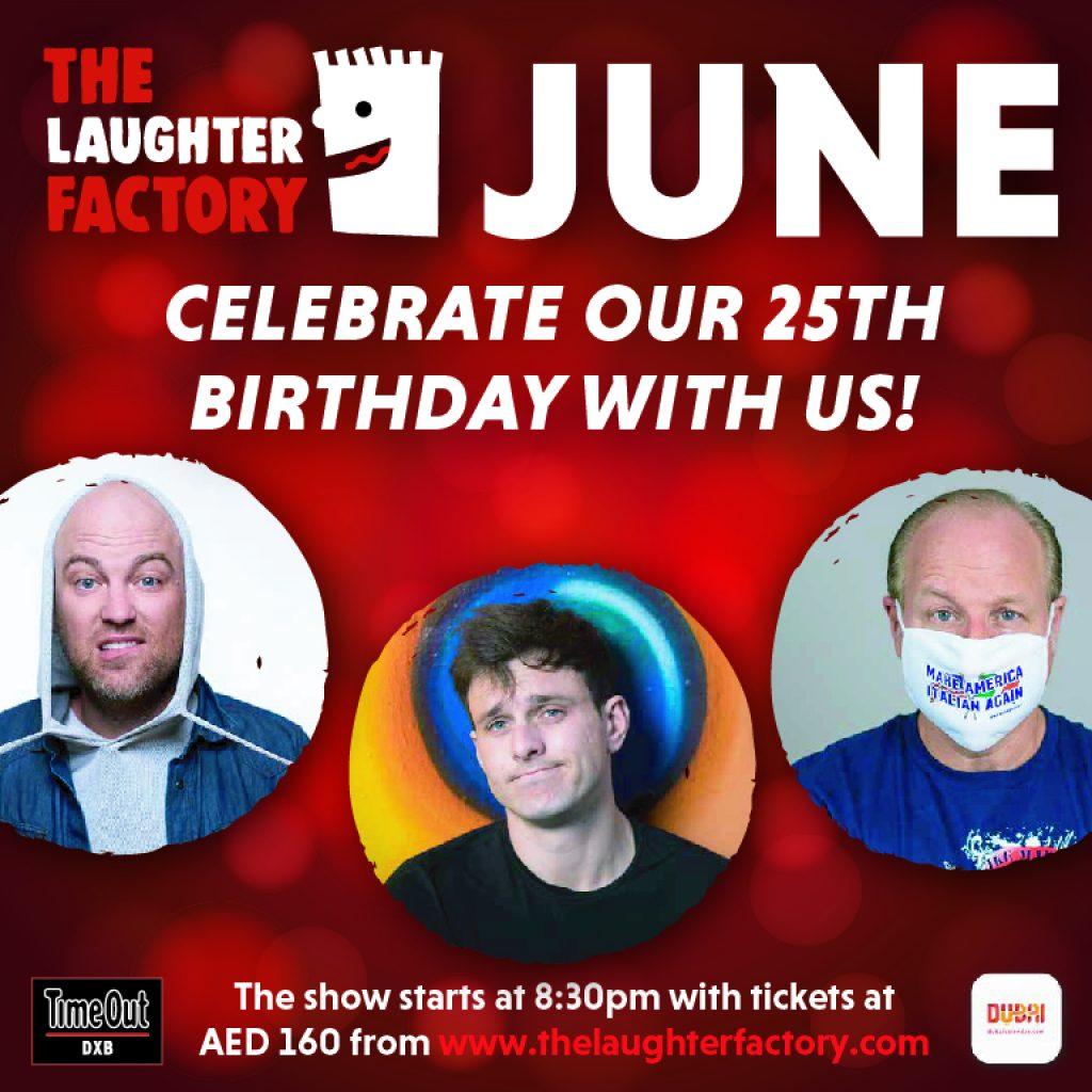 The Laughter Factory - 2021 Event in Dubai, UAE