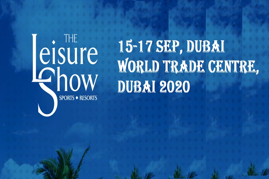 The Leisure Show 2020 on Sep 14th – 16th at Dubai World Trade Centre