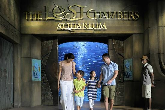 The lost chambers at Atlantis, Palm ,Atlantis The Palm, Dubai, Dubai, United Arab Emirates, Aquarium , attractions in Dubai, Dubai Entertainment