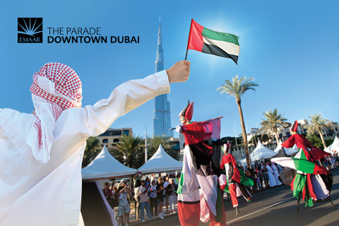 The Parade-Downtown Dubai 2015 / Events in Dubai, UAE