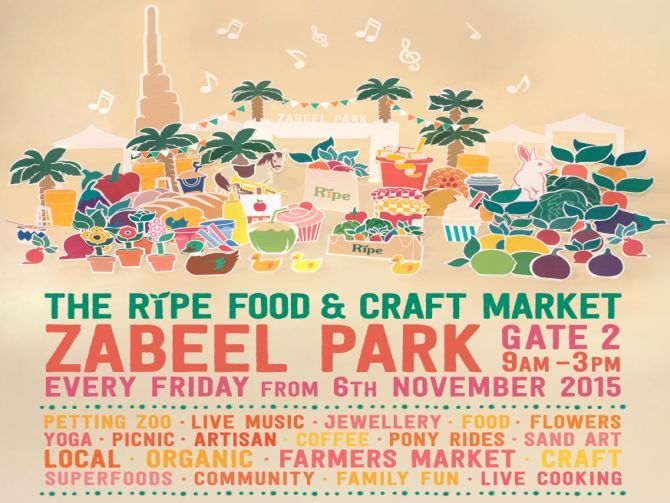 The Ripe Food & Craft Market – Zabeel Park, Dubai