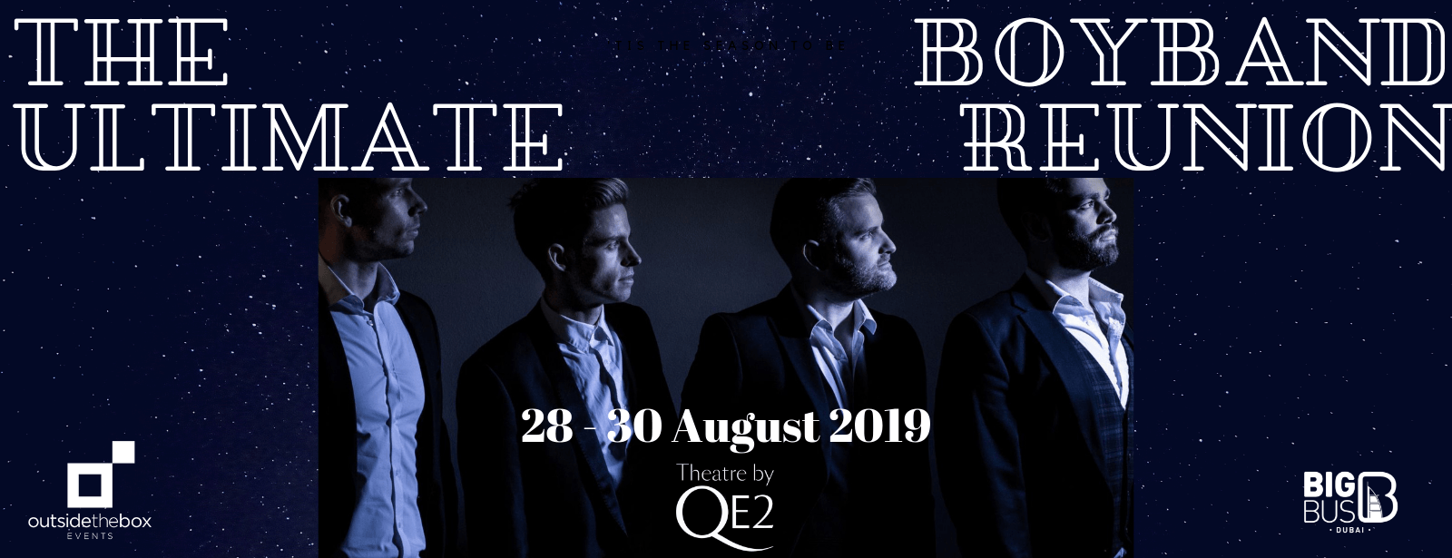 The Ultimate Boyband Reunion Dubai 2019