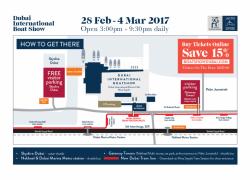 Dubai International Boat show 2017 – Events in Dubai, UAE