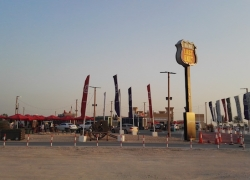 Last Exit at Al Qudra Dubai D63- Street Food Truck Park Dubai