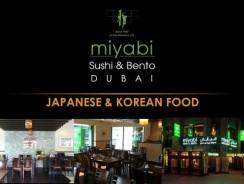 Miyabi Sushi & Bento – Dubai Restaurant