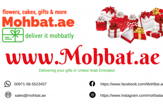 The online gift shop at UAE – www.Mohbat.ae – Deliver it Mohbatly!