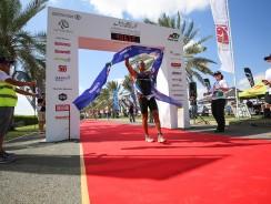 Godart wins Dubai International Triathlon 2015