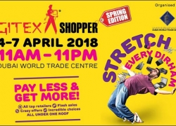 GITEX Shopper Dubai 2018 – 5 Day Consumer Electronics Extravaganza in Dubai, UAE