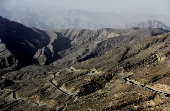 Jabal Al Jais Mountain in Ras Al Khaimah, UAE / Places to visit in UAE