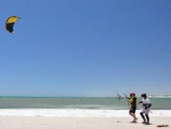 Kite beach Dubai   Fazza beach in Dubai, UAE