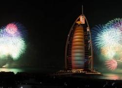 The New Year Gala Dinner at Burj Al Arab – New Year Events in Dubai, UAE.