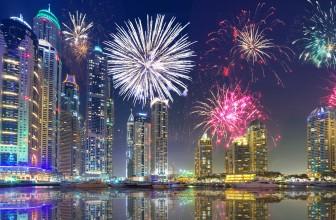 New Year 2018 Fireworks in DUBAI UAE – Latest Events in UAE