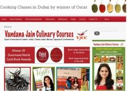 Vandana Jain's culinary courses Dubai, UAE