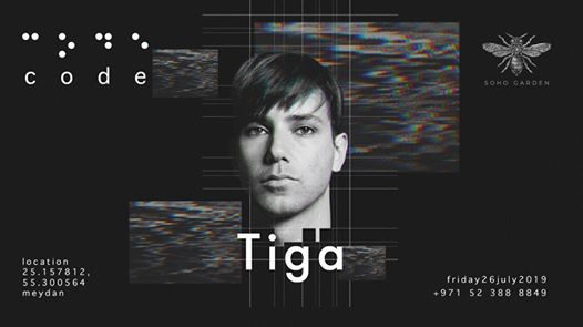 Tiga at Soho Garden Dubai 2019