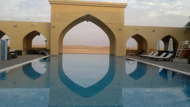 Tilal Liwa Hotel Review - Entrance