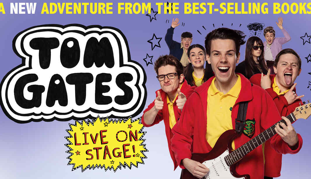 Tom Gates Live on Jan 27th – Feb 1st at The Theatre, Mall of the Emirates