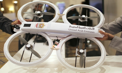 Drones for Good Award 2015 in Dubai, UAE