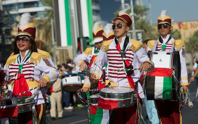 UAE National Day Traditional Bands on Nov 29th – Dec 2nd  2019