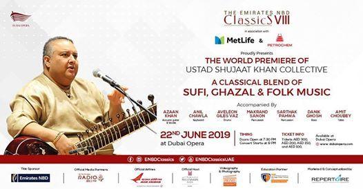 Ustad Shujaat Khan Live at Dubai Opera 2019