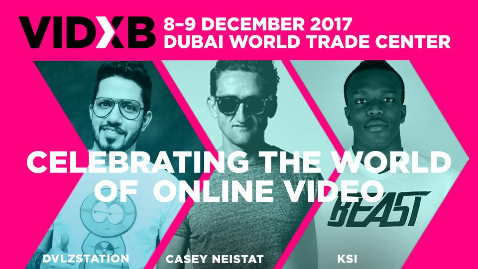 VIDXB Dubai, United Arab Emirates – Events in Dubai